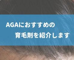 agaにオススメの育毛剤を紹介します (1)